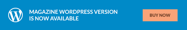 Magazine - Responsive Multipurpose HTML Template - 1